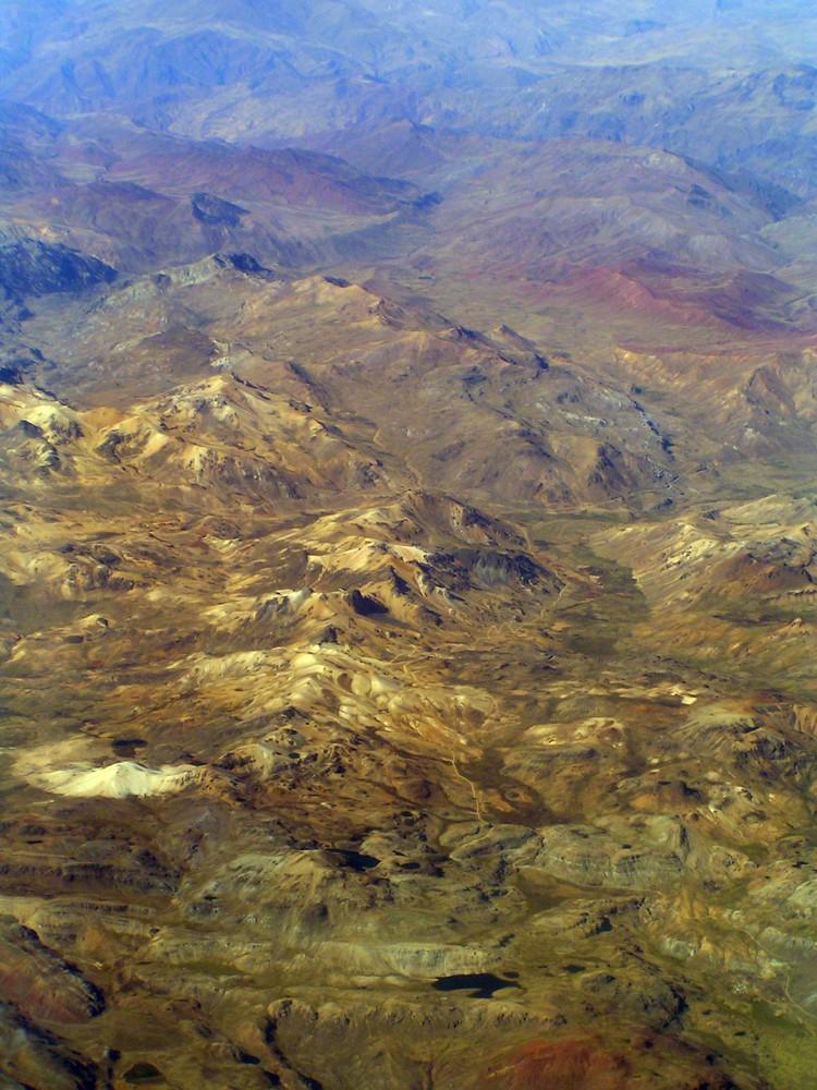 Über den Dächern der Anden