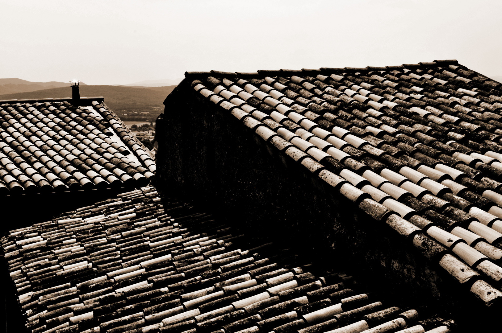 Über den Dächern der Provence I