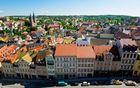 Über den Dächern der Stadt Altenburg