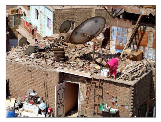 über den Dächern Kairo