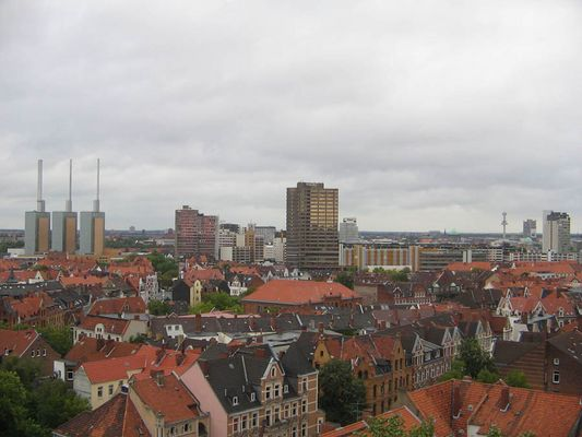 Über den Dächern Lindens...