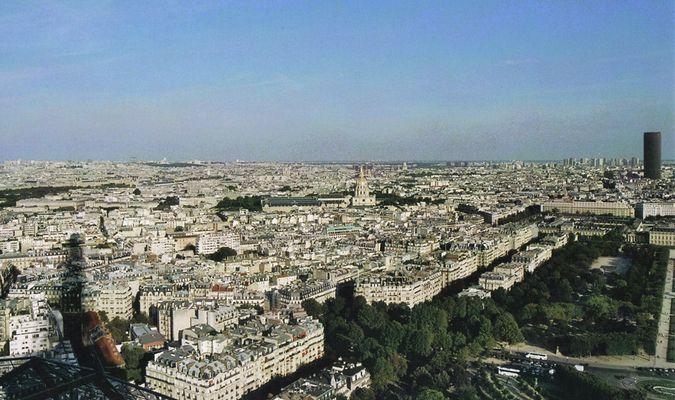 Über den Dächern Paris