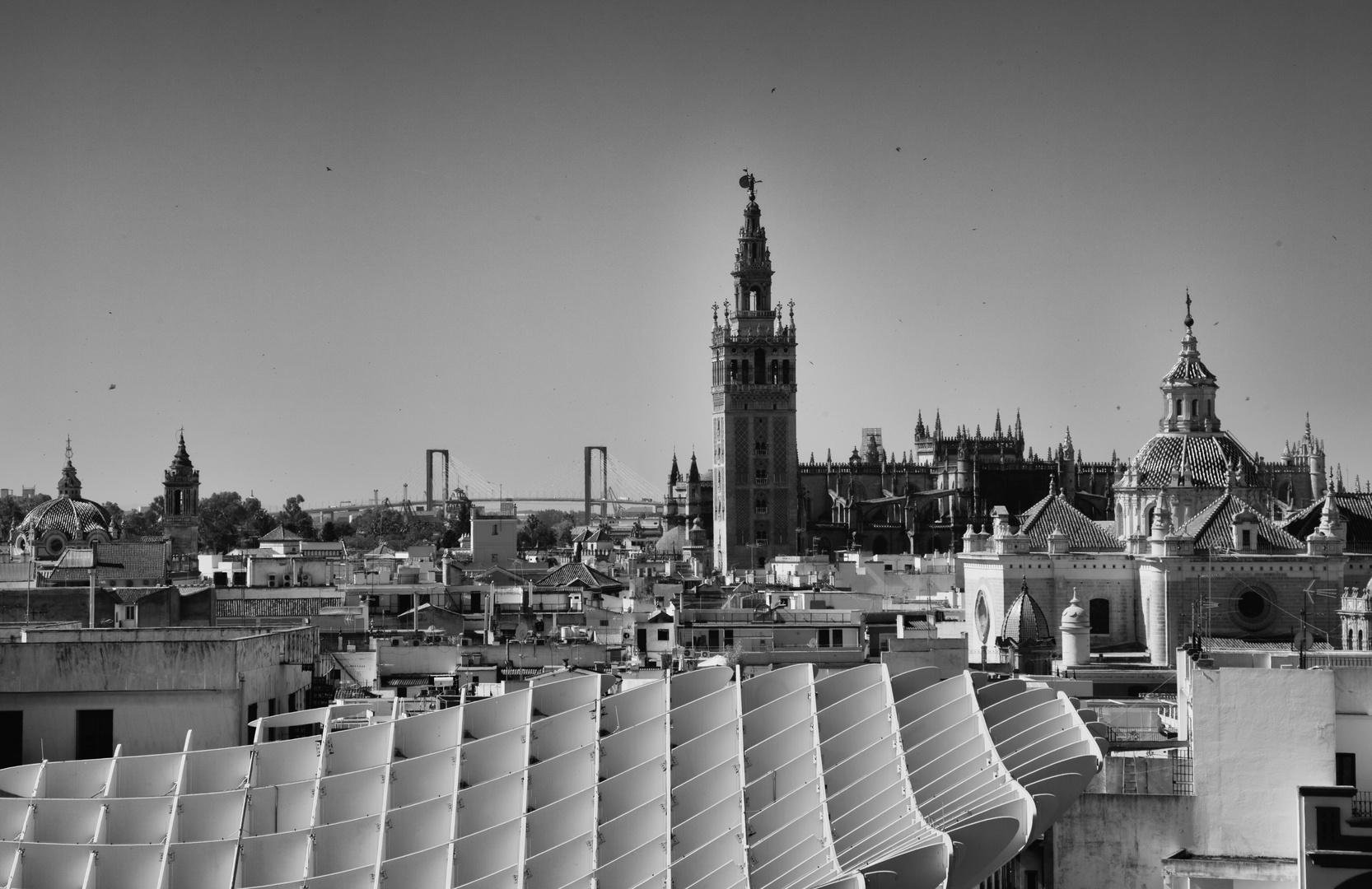 Über den Dächern Sevillas