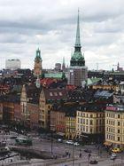 Über den Dächern Stockholms II