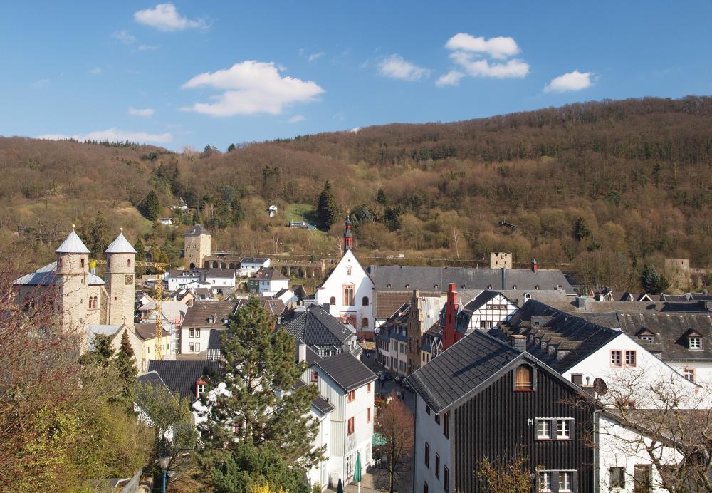 Über den Dächern von Bad Münstereifel