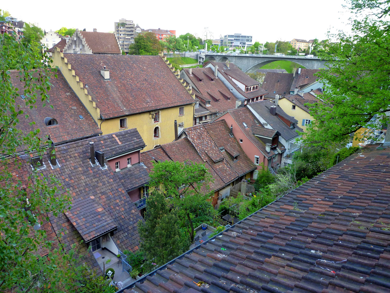 Über den Dächern von Baden ...