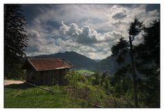 über den Dächern von Bayrischzell