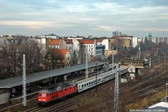 über den Dächern von Berlin, genauer vom Parkdeck des Ringbahncenters