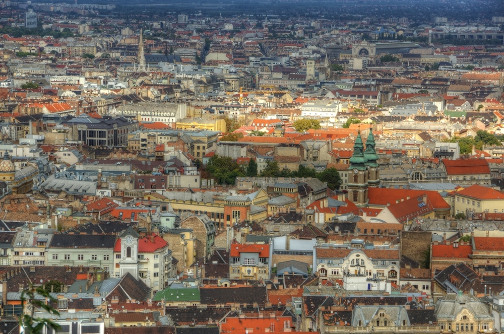 Über den Dächern von Budapest