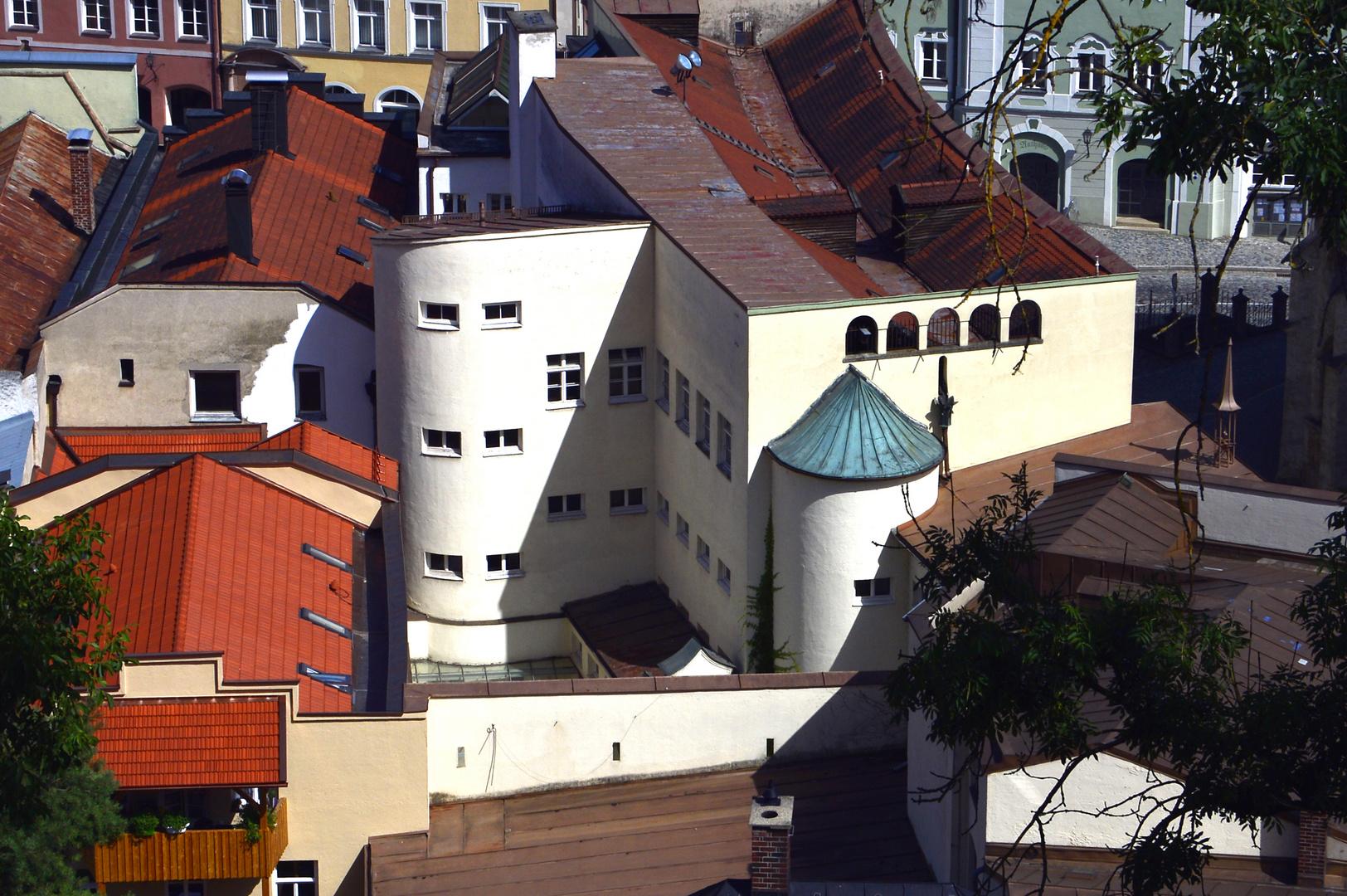 über den Dächern von Burghausen