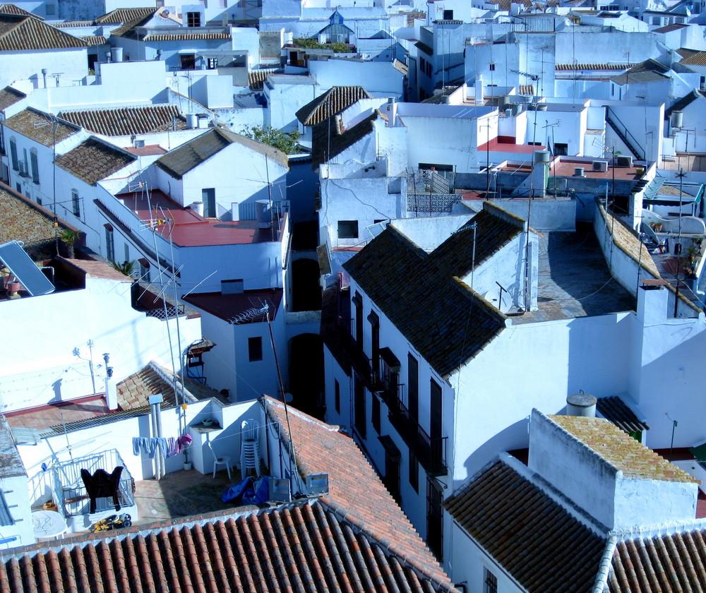 Über den Dächern von Carmona