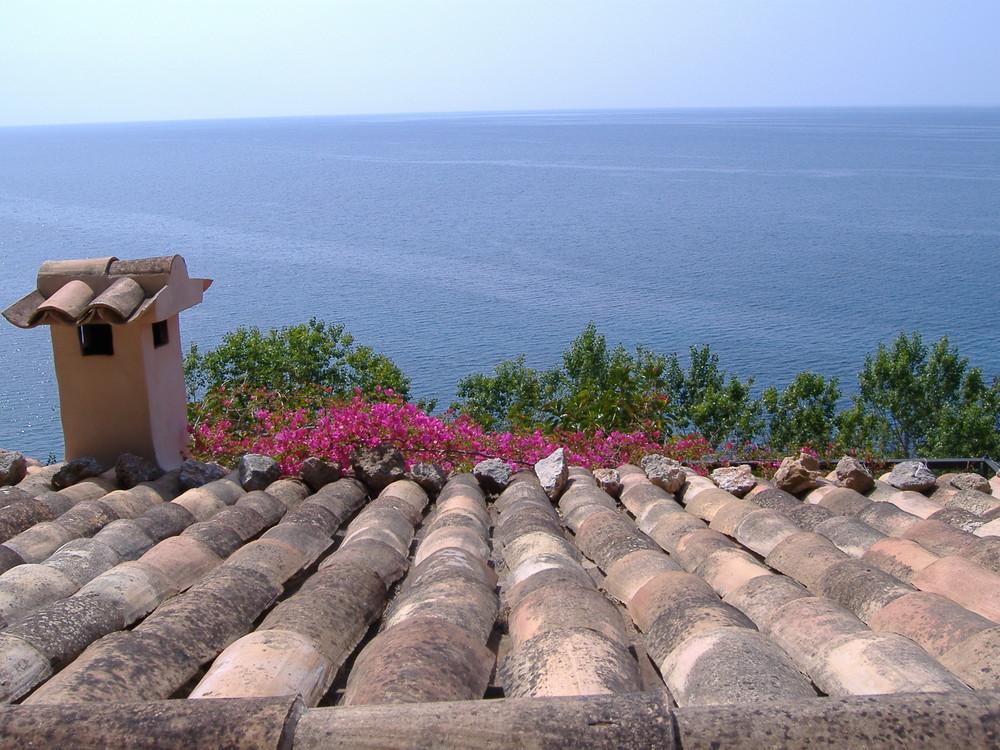 über den Dächern von Deià