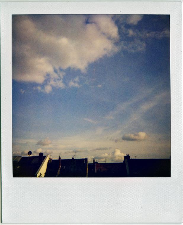 ... über den Dächern von Düsseldorf ...