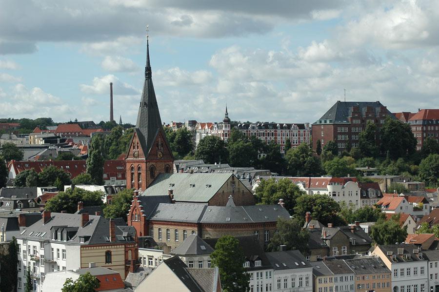 über den Dächern von Flensburg