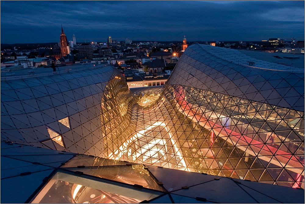 Über den Dächern von Frankfurt II
