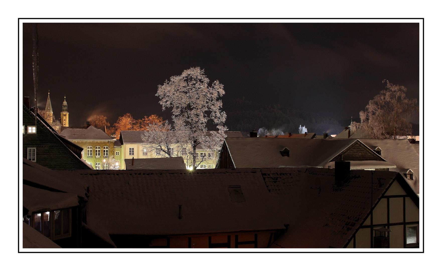 über den Dächern von Goslar