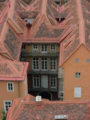 ...über den Dächern von Graz...