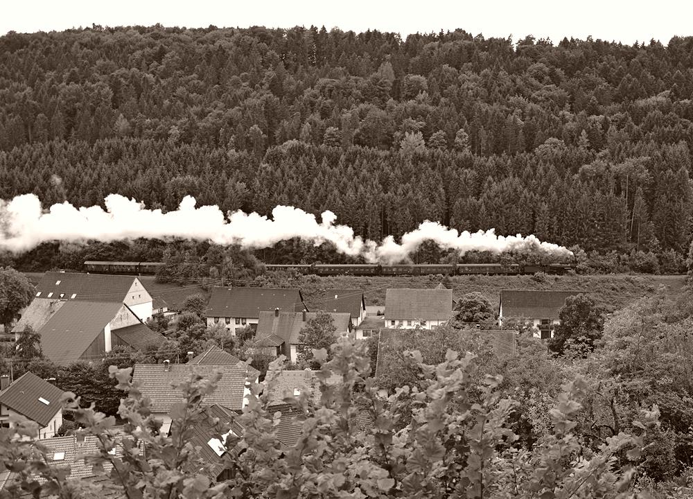 Über den Dächern von Grimmelshofen ...