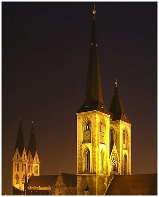Über den Dächern von Halberstadt