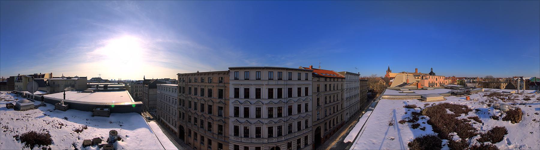 über den Dächern von Halle