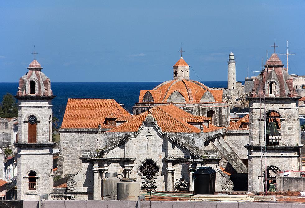Über den Dächern von Havanna Vieja....