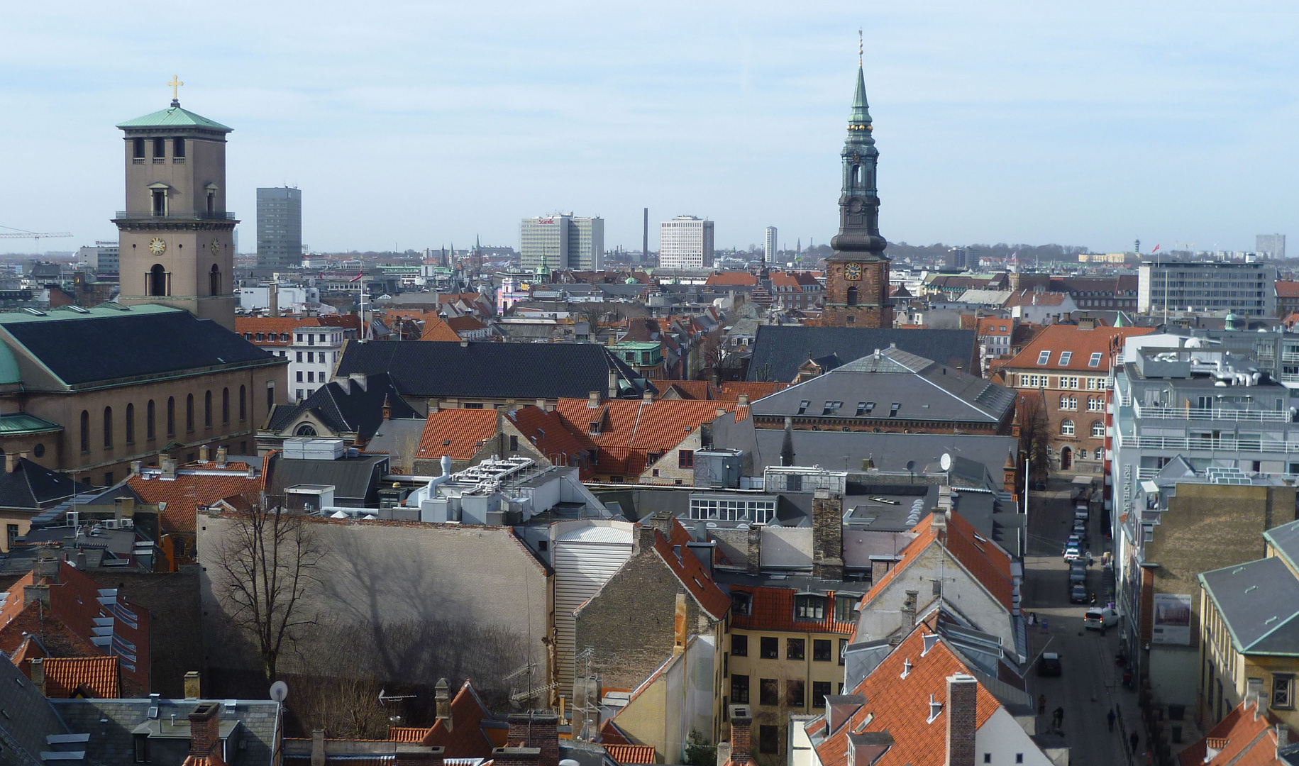 Über den Dächern von Kopenhagen 2