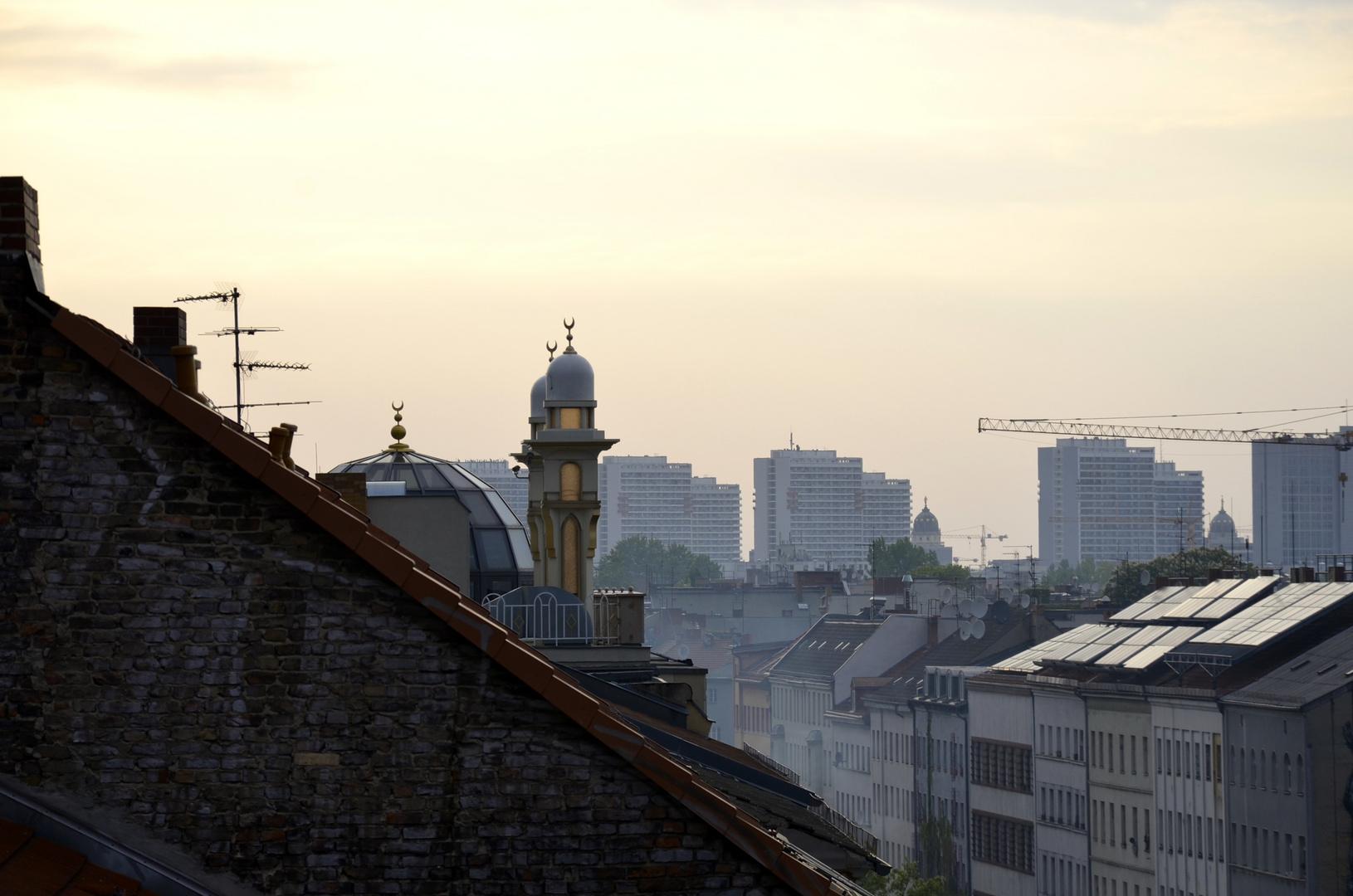 Über den Dächern von Kreuzberg