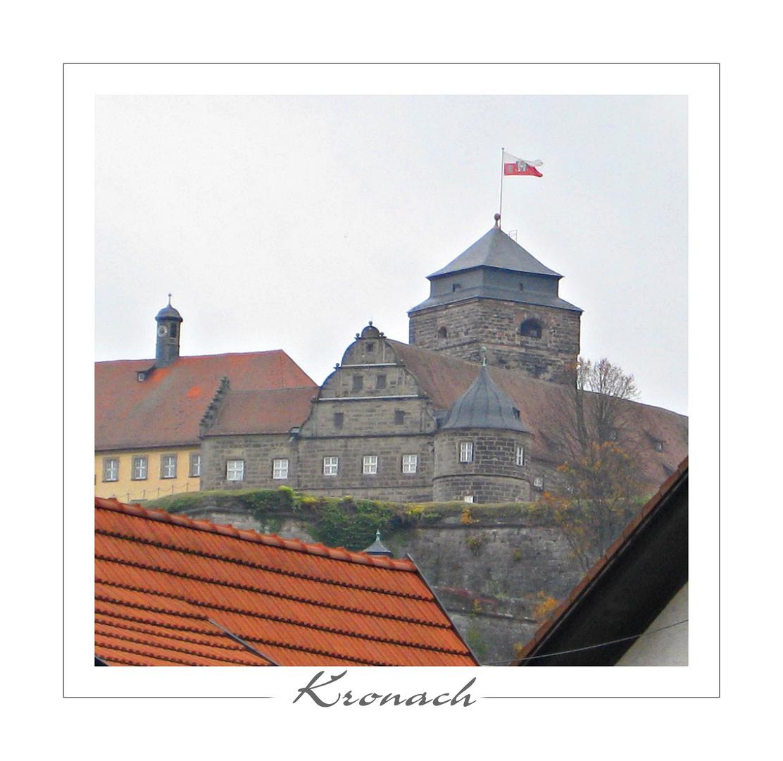 Über den Dächern von Kronach