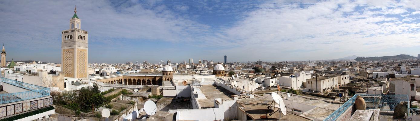 Über den Dächern von La Goulette / Tunesien