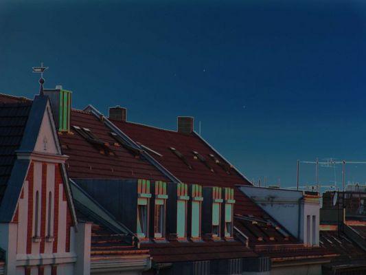 Über den Dächern von LE