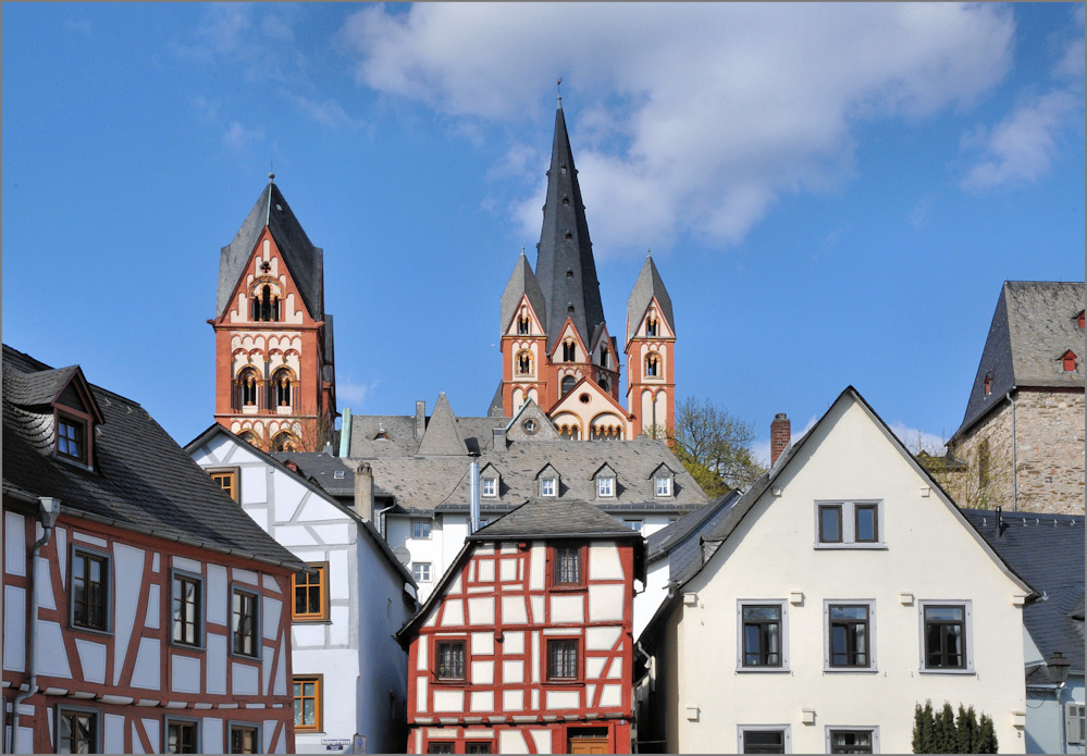 Über den Dächern von Limburg ...