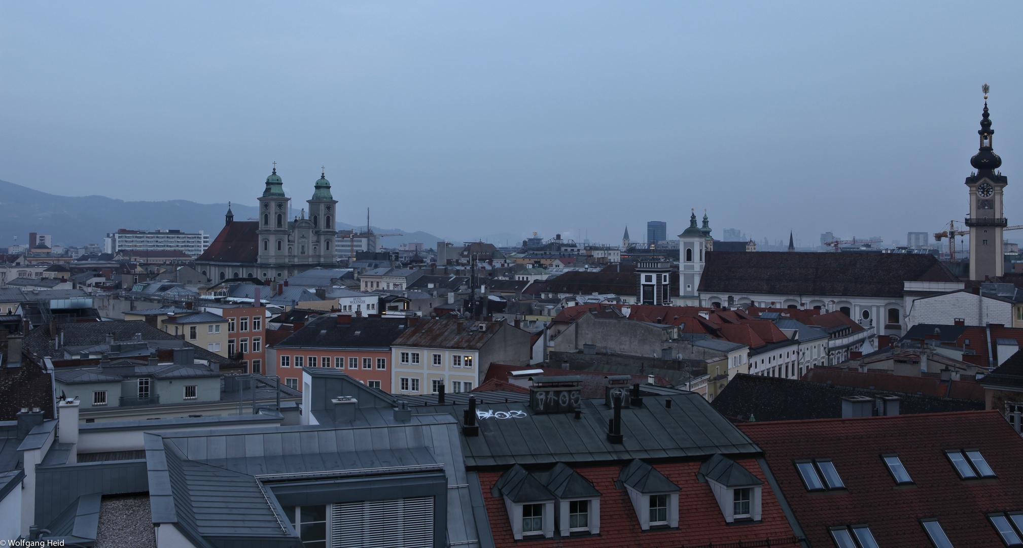 Über den Dächern von Linz Nr.2