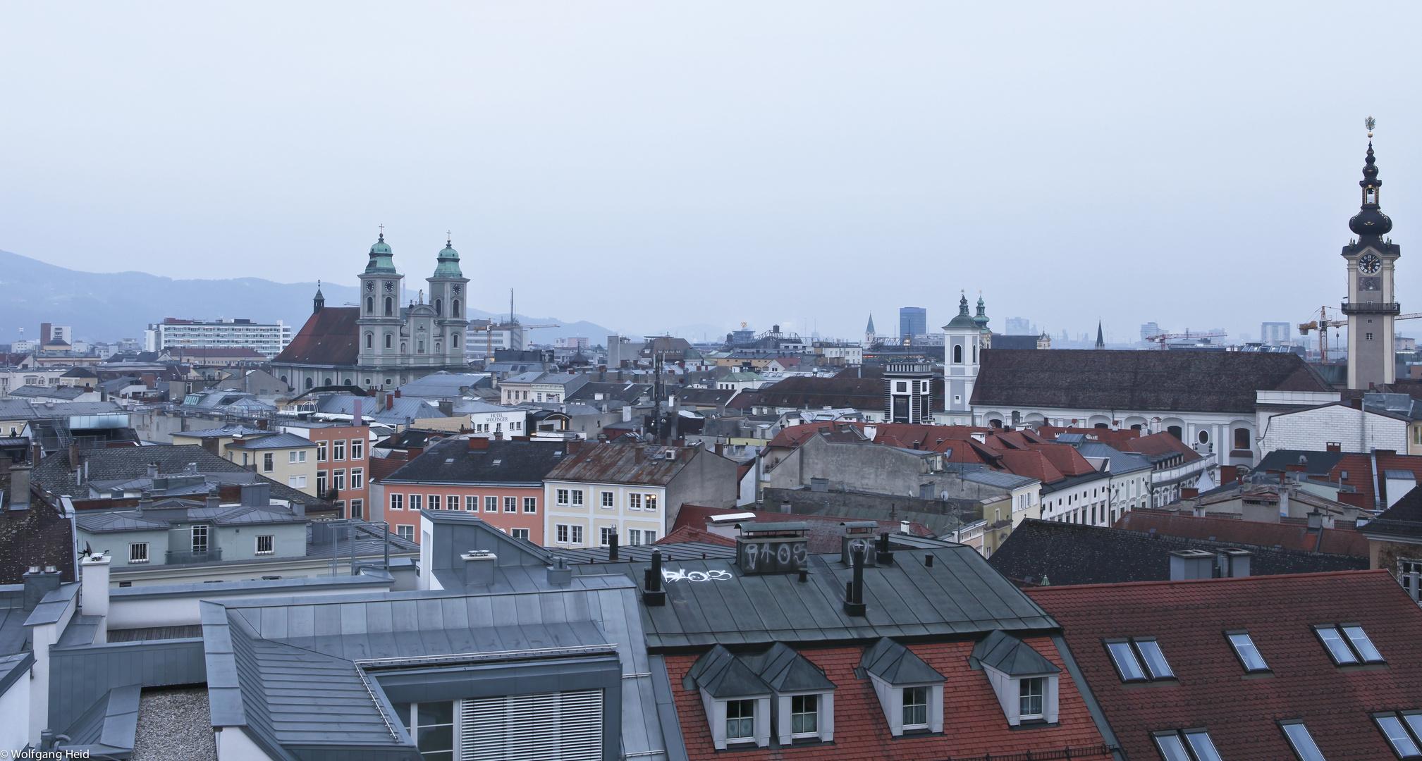 Über den Dächern von Linz Nr.3