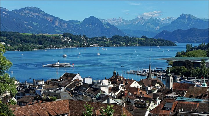 Über den Dächern von Luzern