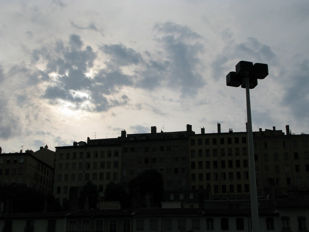 Über den Dächern von Lyon