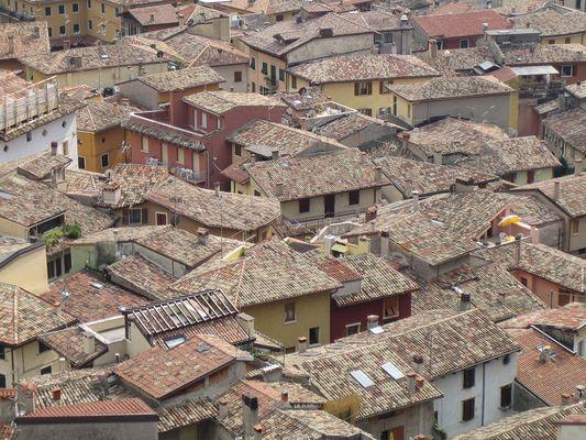 Über den Dächern von Malcésine