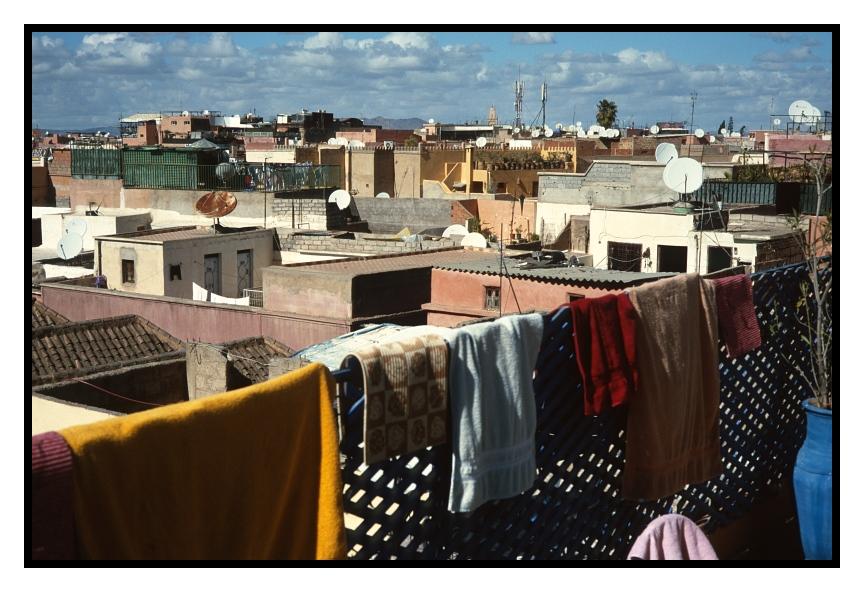 über den Dächern von Marrakech