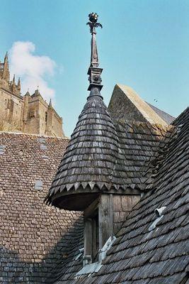 Über den Dächern von Mont Saint Michel
