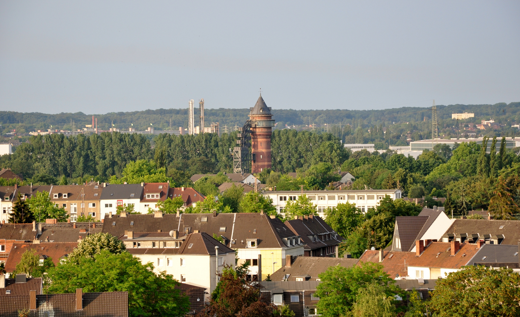 über den Dächern von Mühlheim