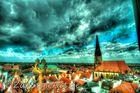Über den Dächern von Münster