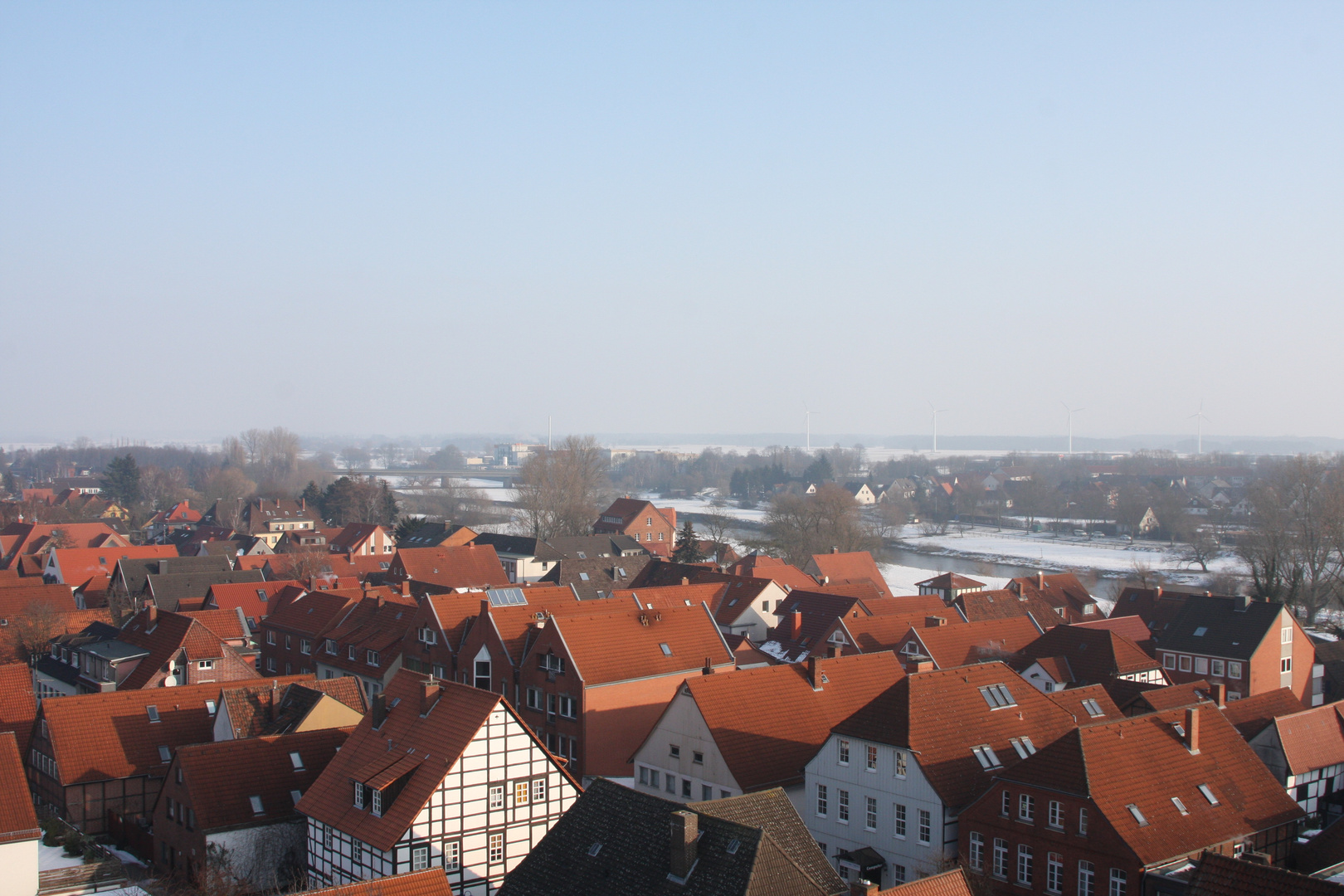 Über den Dächern von Neustadt am Rübenberge (1)