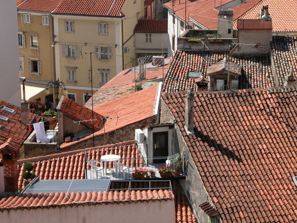 Über den Dächern von Piran