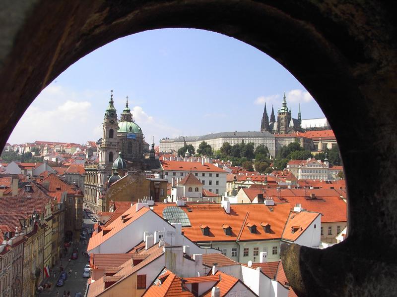 über den Dächern von Praha