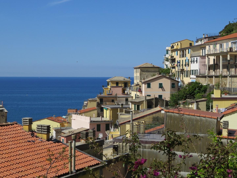 Über den Dächern von Riomaggiore