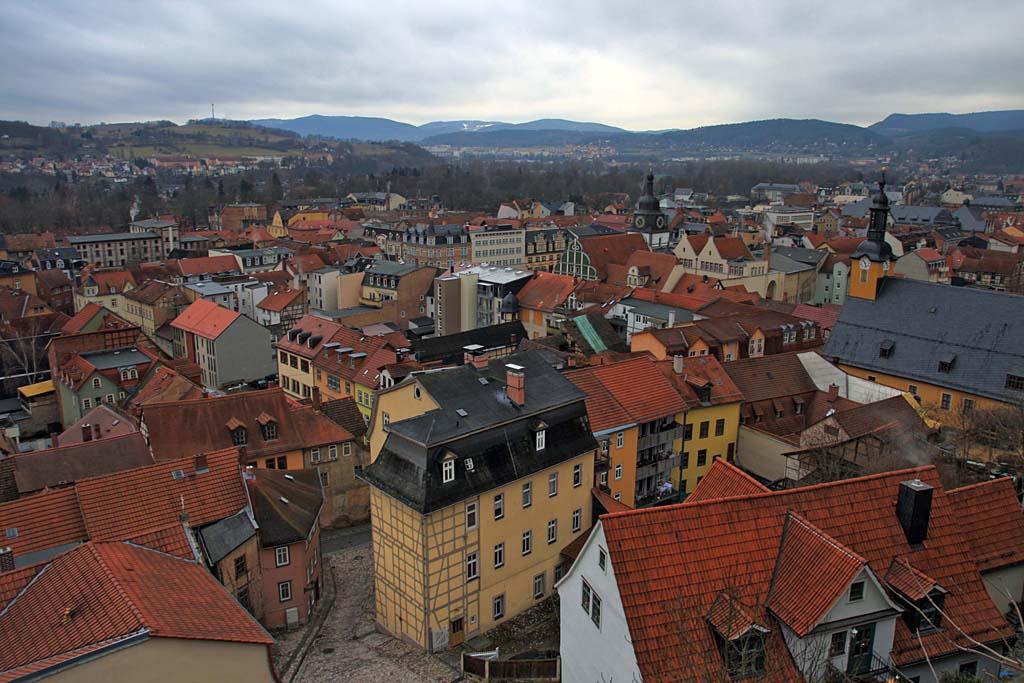 Über den Dächern von Rudolstadt