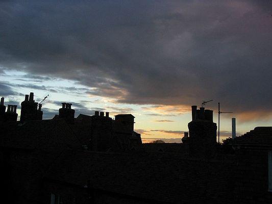 Über den Dächern von Rye