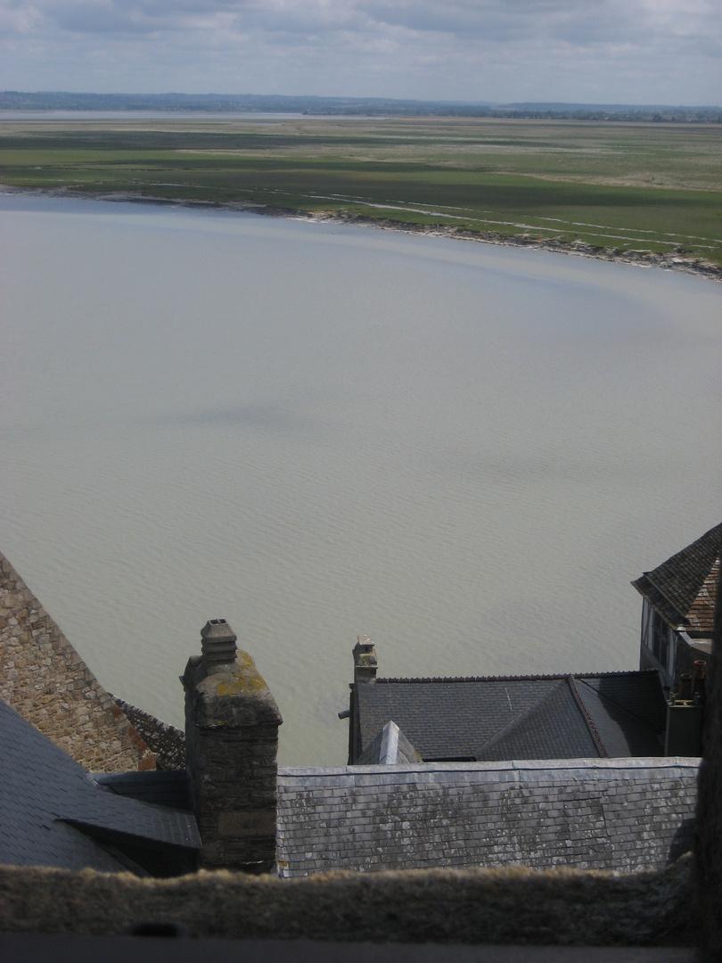 Über den Dächern von Saint-Michel