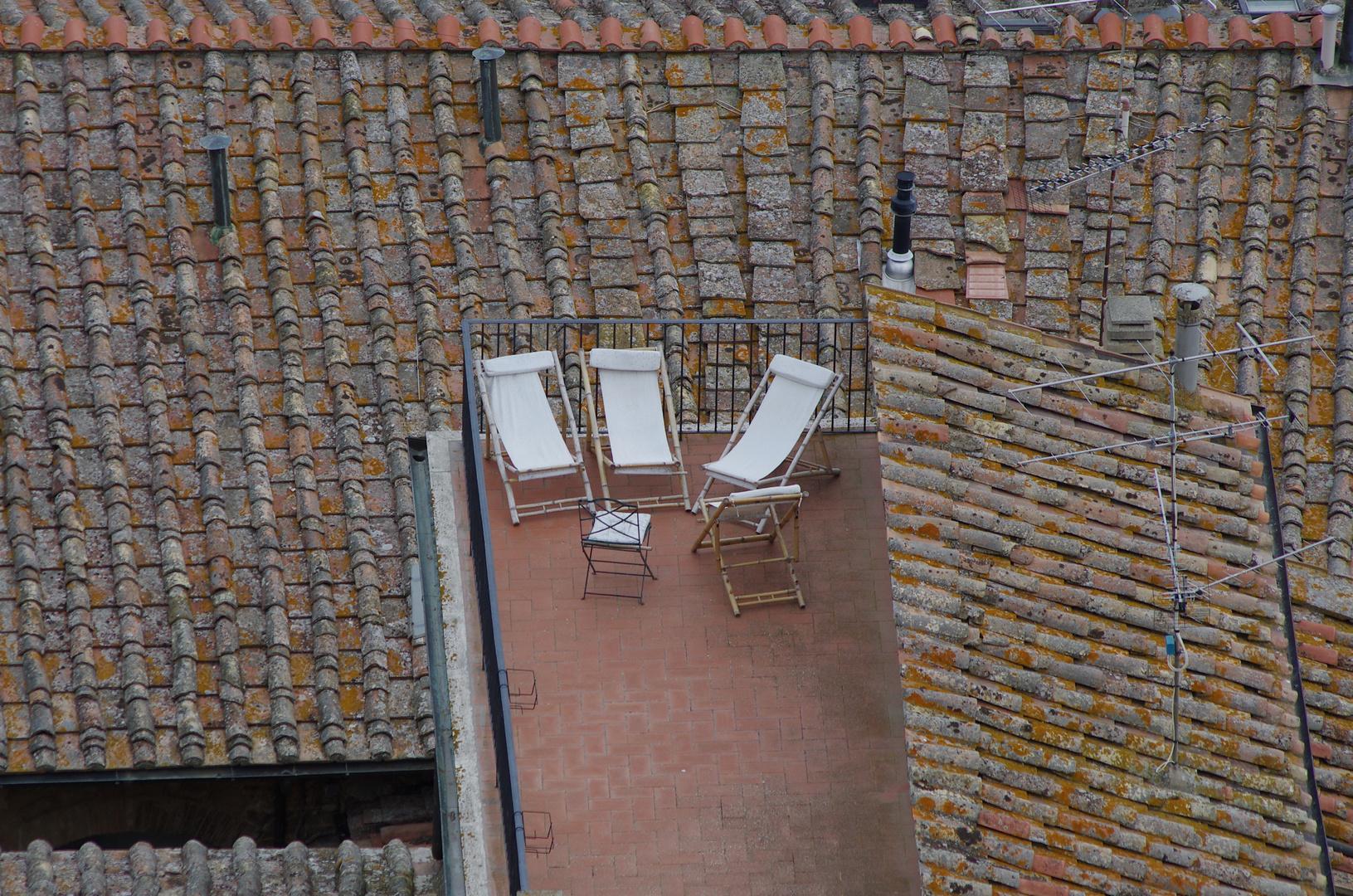 Über den Dächern von San Gimignano