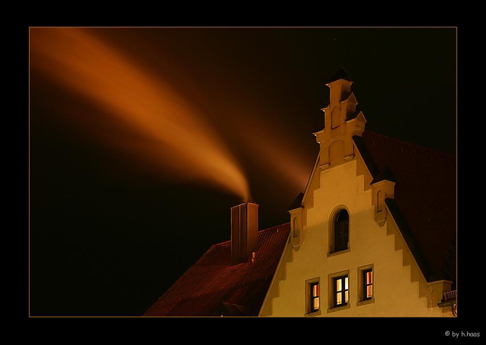 Über den Dächern von Schrobenhausen
