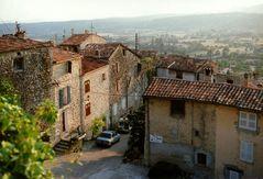 Über den Dächern von Seillans/Provence